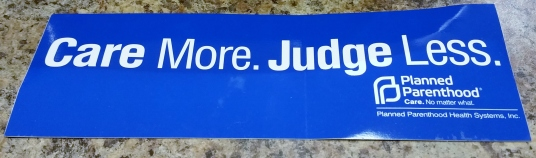 Care More, Judge Less