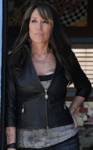 Katey Sagal as Gemma Teller Morrow in Sons of Anarchy