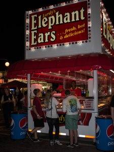 elepant ears sign