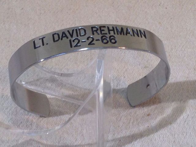 David Rehman POW bracelet