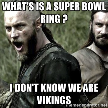 Vikings Superbowl