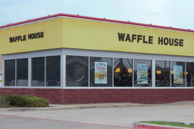 Waffle House Plano East color